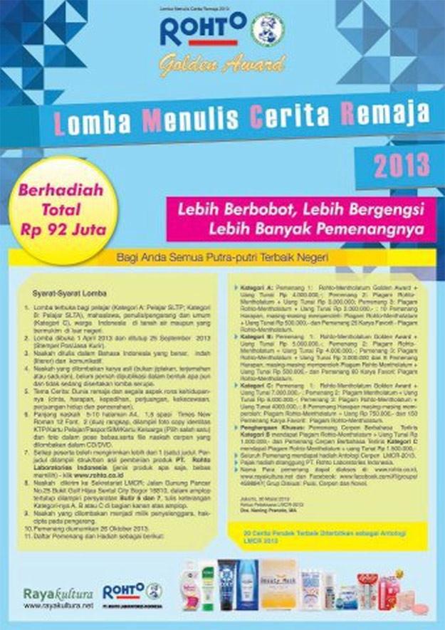 Lomba Menulis Cerita Anak Islami Pro U Media Official